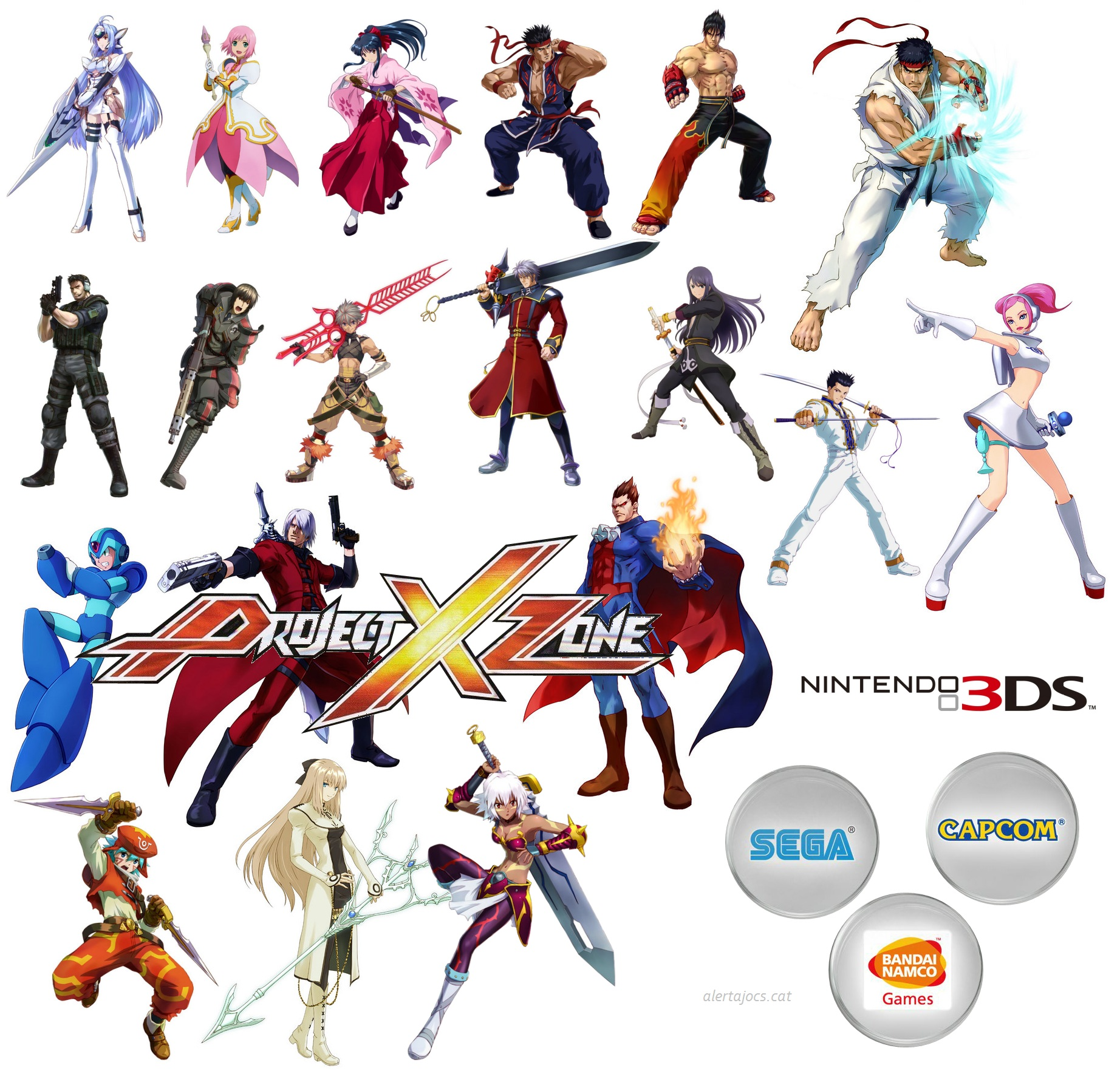 Project X Zone Update And Release Date