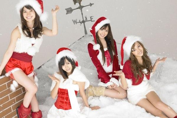 AKB48 Promote Xmas In Japan
