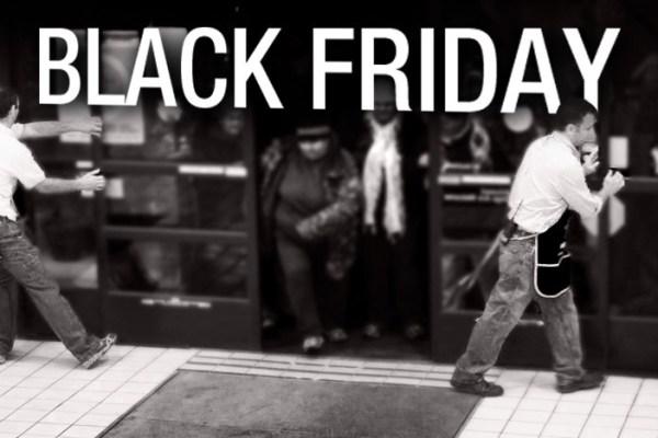 Some Black Friday Sales Figures