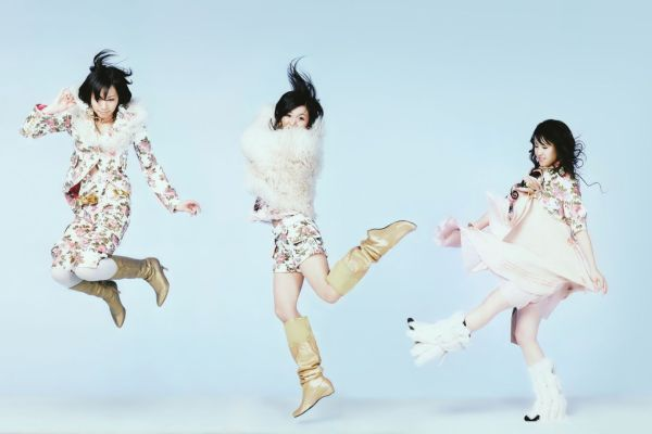 Perfume Shows Jacket Covers For Magic Of Love Single