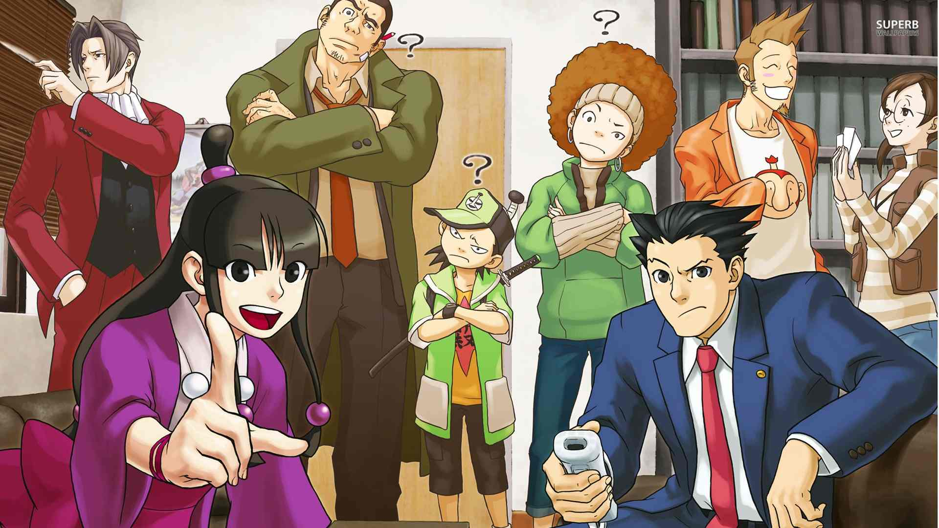 Ace Attorney 5 3DS Trailer