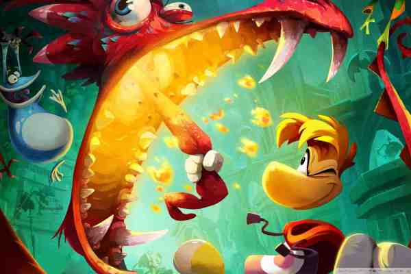Rayman says hello to the PS Vita