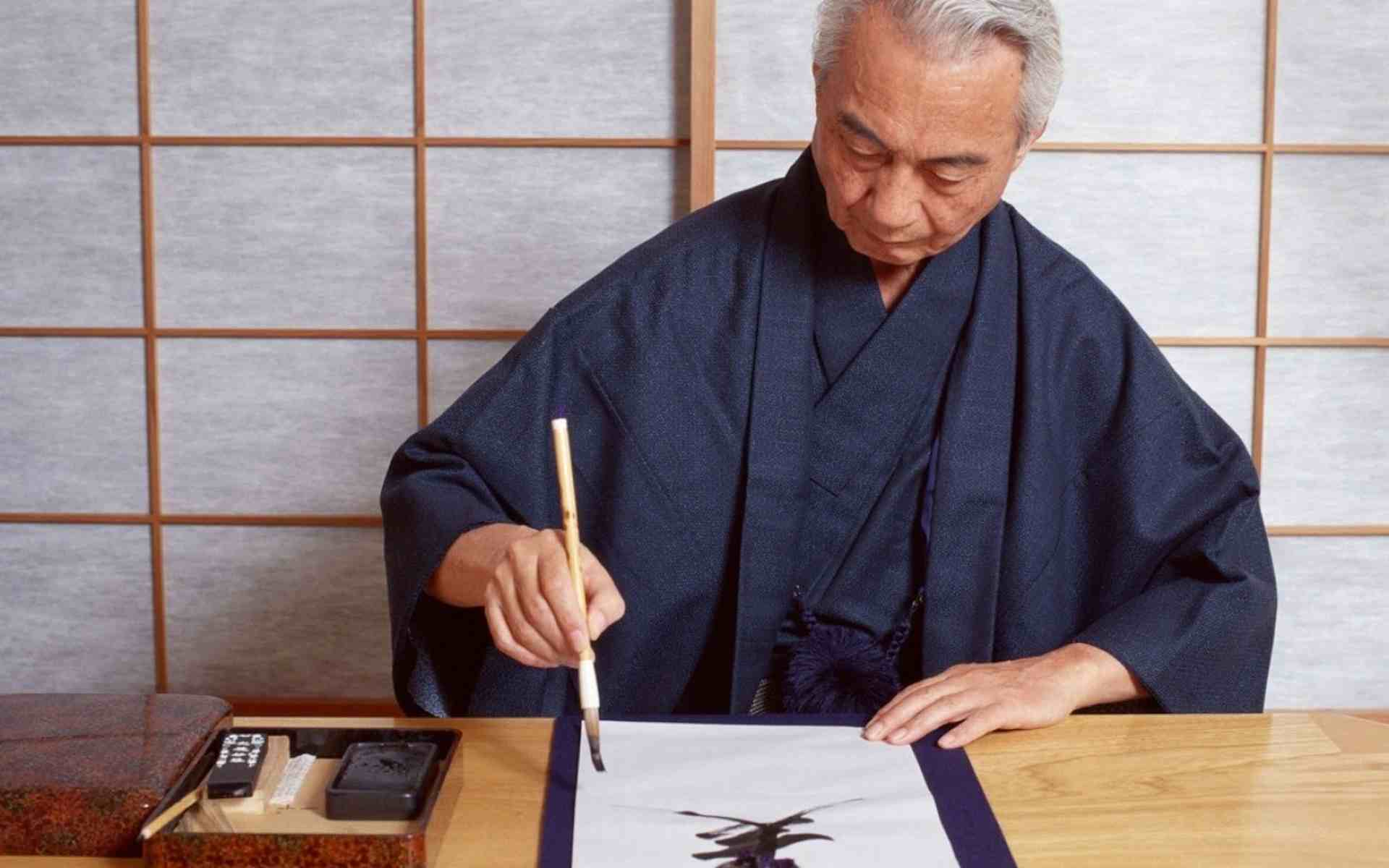 Japanese postal service creates calligraphy site