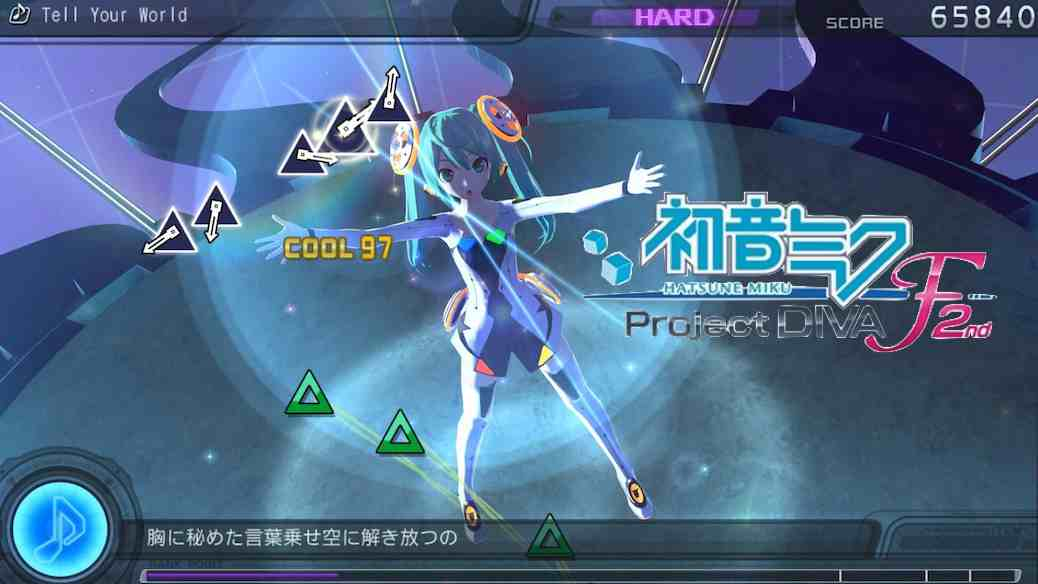 Hatsune Miku Project Diva F 2nd Update