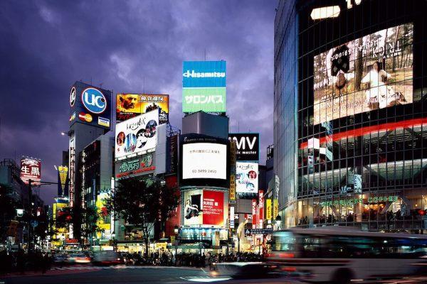 Shibuya Time Lapse Under Construction