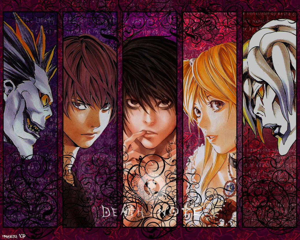 Death Note Author Writes Up New Manga