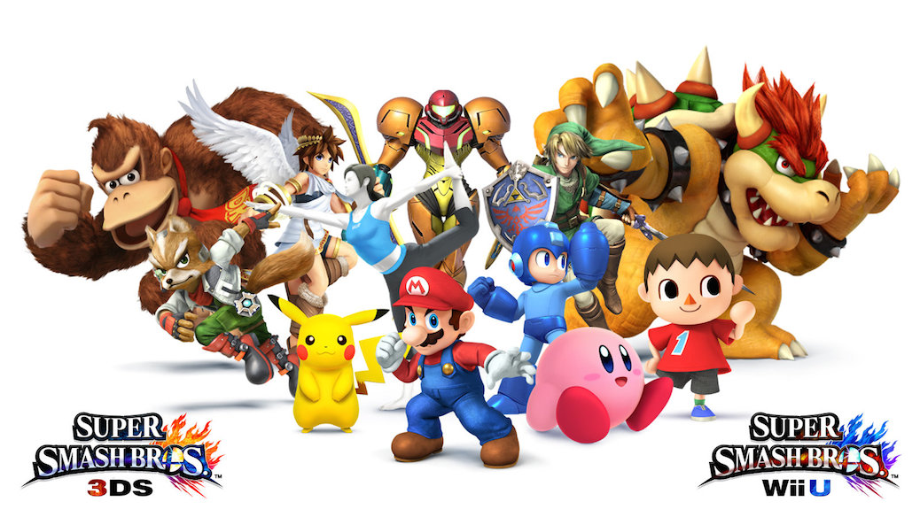 Awesome Japanese Ad For Super Smash Bros On Nintendo 3DS