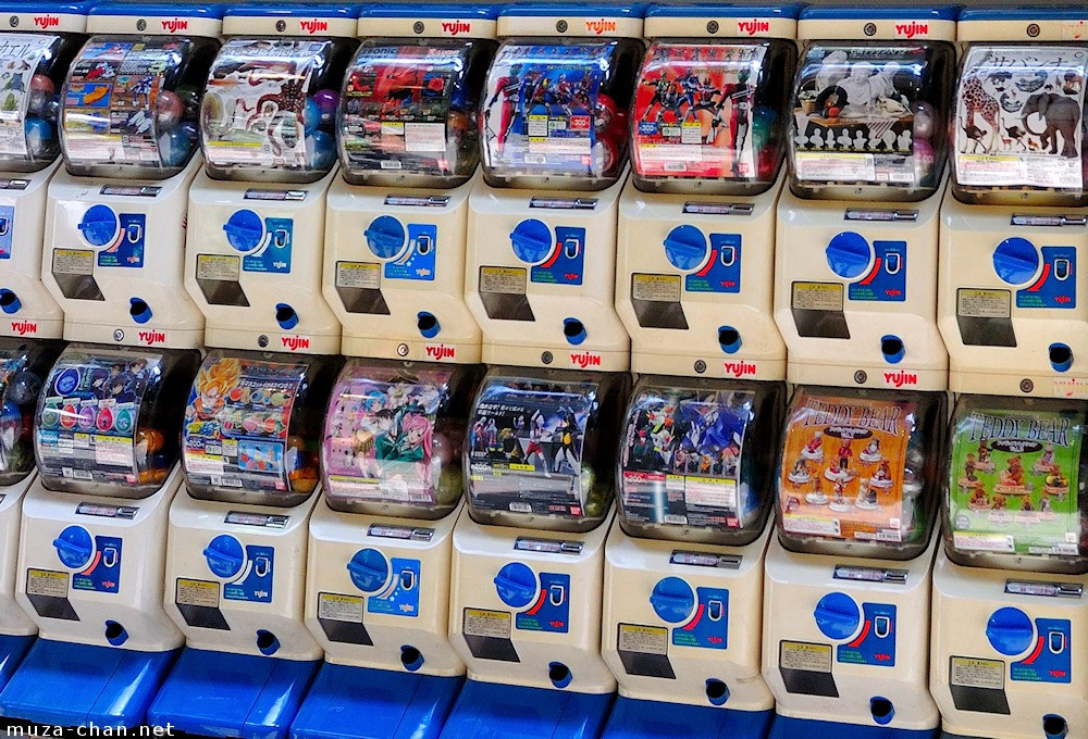 Gashapon Cat Toys Come To Japan