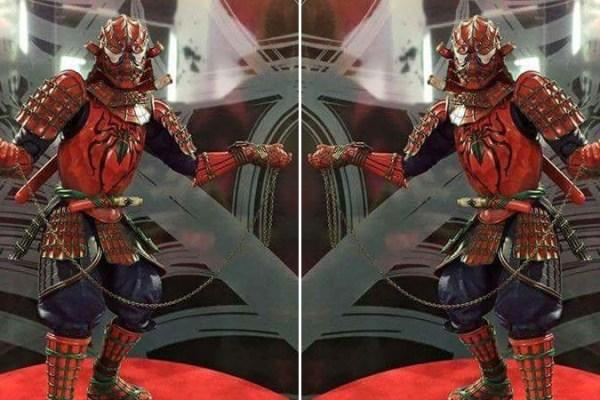 Samurai Spider-Man From Bandai and Tamashii Nations