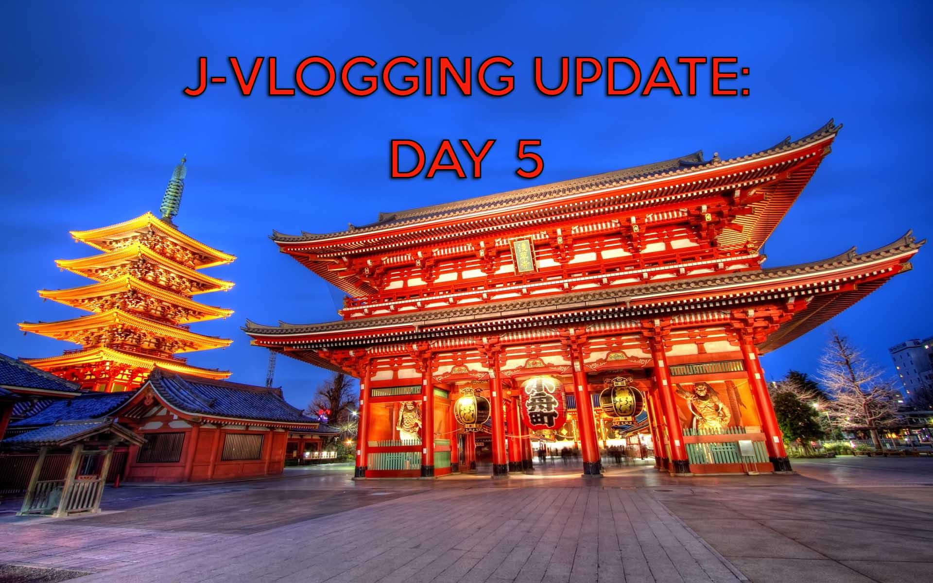 ASAKUSA & SENSO-JI TEMPLE: J-VLOGGING 2016 DAY 5