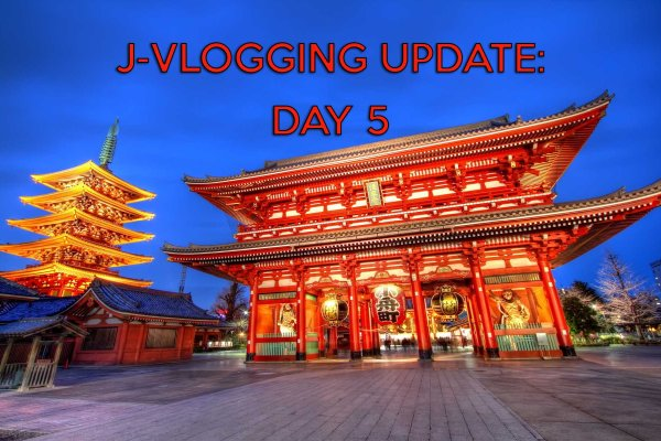 ASAKUSA & SENSO-JI TEMPLE: J-VLOGGING 2016 DAY 5