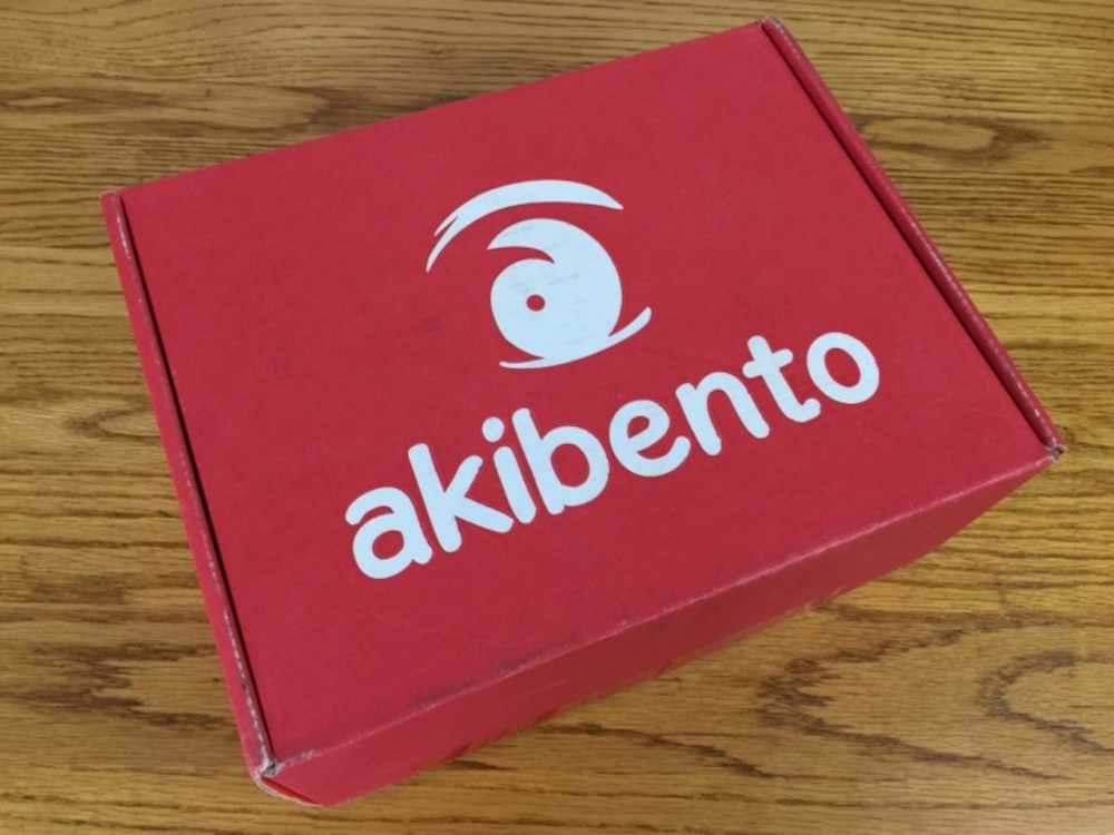 Unboxing: December Akibento Box