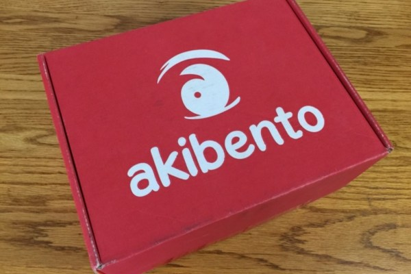Unboxing: December Akibento Box