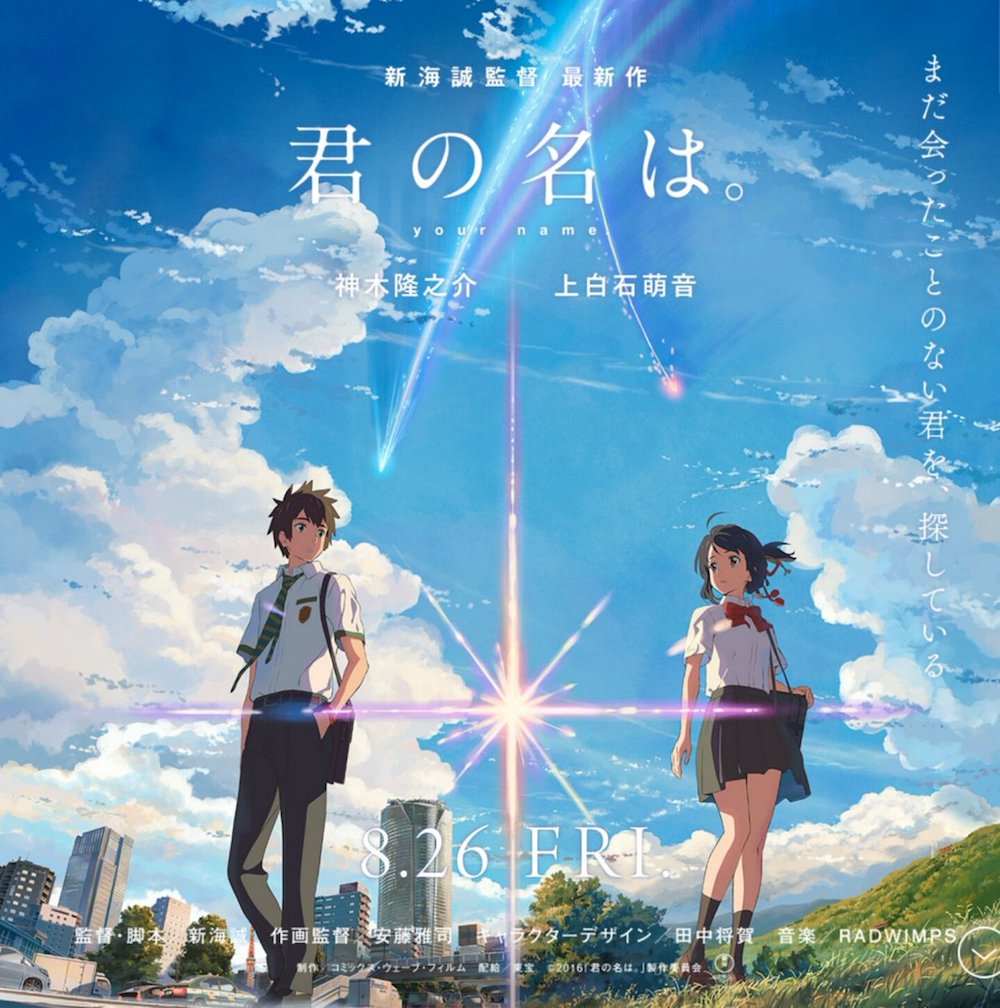 Your Name TV Screening Rates Well