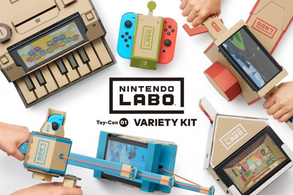 Nintendo Show Off Nintendo Labo For Switch