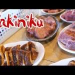 Yakiniku (Japanese BBQ) Restaurant, Shichirin