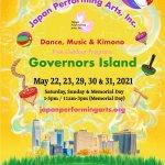 Japan Performing Arts Dance, Music & Kimono @ Governors Island (5/22 - 5/31/2021)