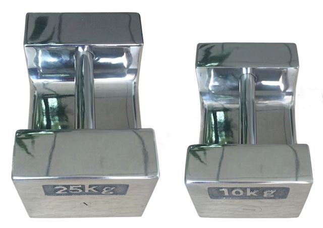 20のKg公認の産業テスト重量/ステンレス鋼の口徑測定の重量