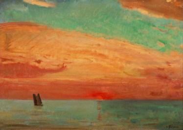 Sunrise Over the Eastern Sea