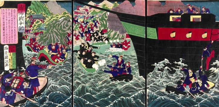 Sino-French War Japanese Depiction