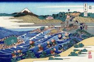 The Fuji from Kanaya on the Tokaido