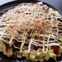 Okonomiyaki: Osaka-Style Cabbage Pancakes