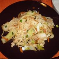 Yaki-udon: Stir Fried Udon Noodles