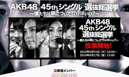 Ini Dia Hasil Sementara Dari AKB48 45th Senbatsu Sousenkyou