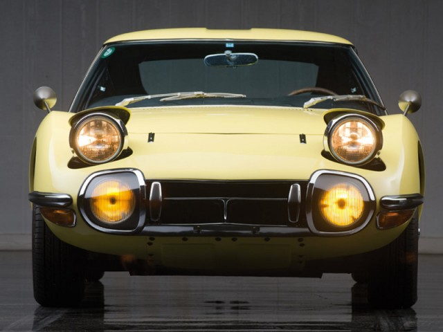 1967 Toyota 2000GT belatrix yellow 05
