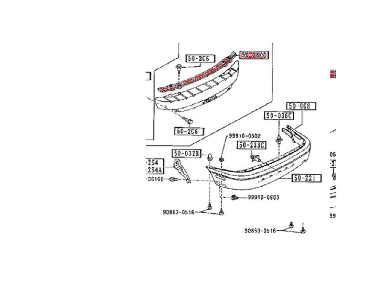 33 Mazda Parts Diagram