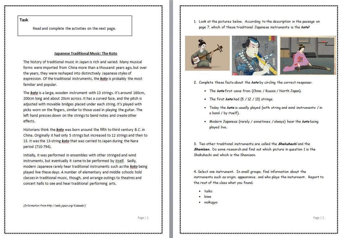 Supply Teacher Material