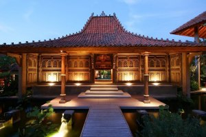 Rumah adat tradisional Jogja