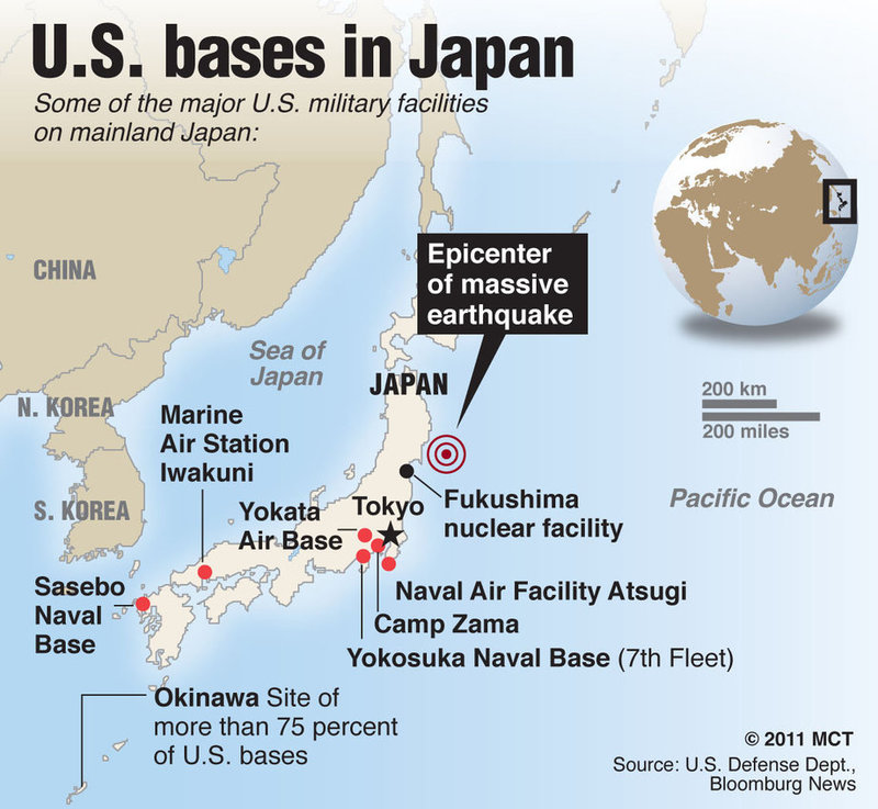 Marine Base In Japan Map.Which Us Presidential Candidate Is Better For The Philippines