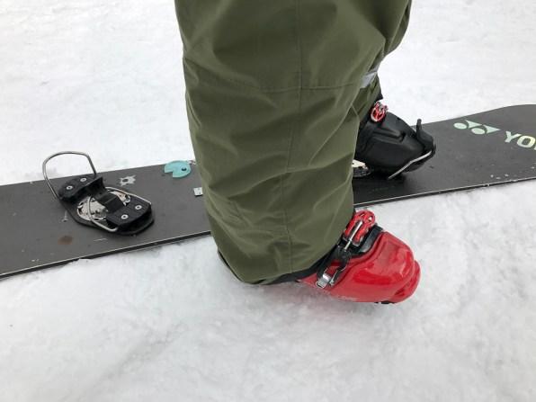 Nagareha banked slalom hardboots