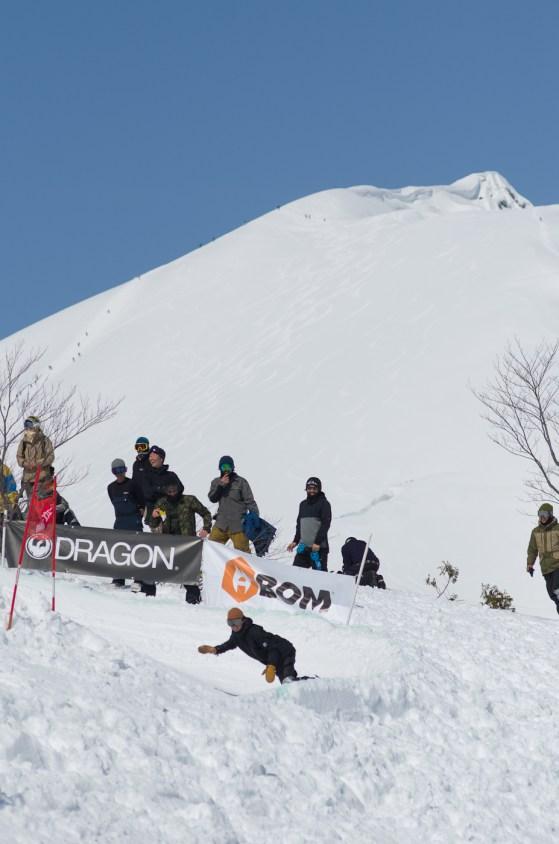 Tenjin Banked Slalom 2nd turn