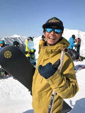 Tenjin Banked Slalom 2017 Go Biyajima shaka