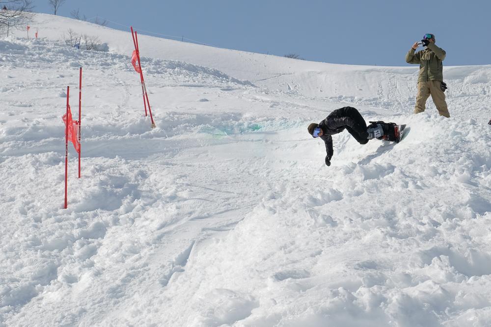 Tenjin Banked Slalom Takahara Nakai