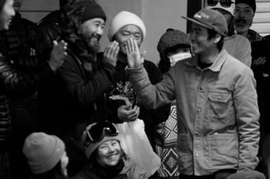 Tenjin Banked Slalom 2017 Nakai high five