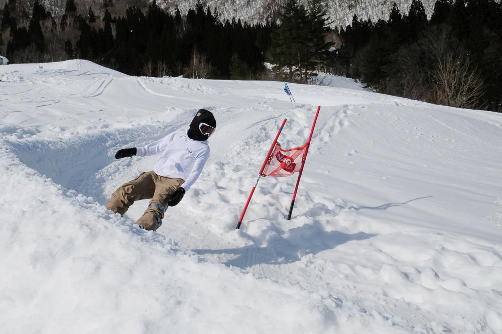 Nagareha banked slalom Igarashi