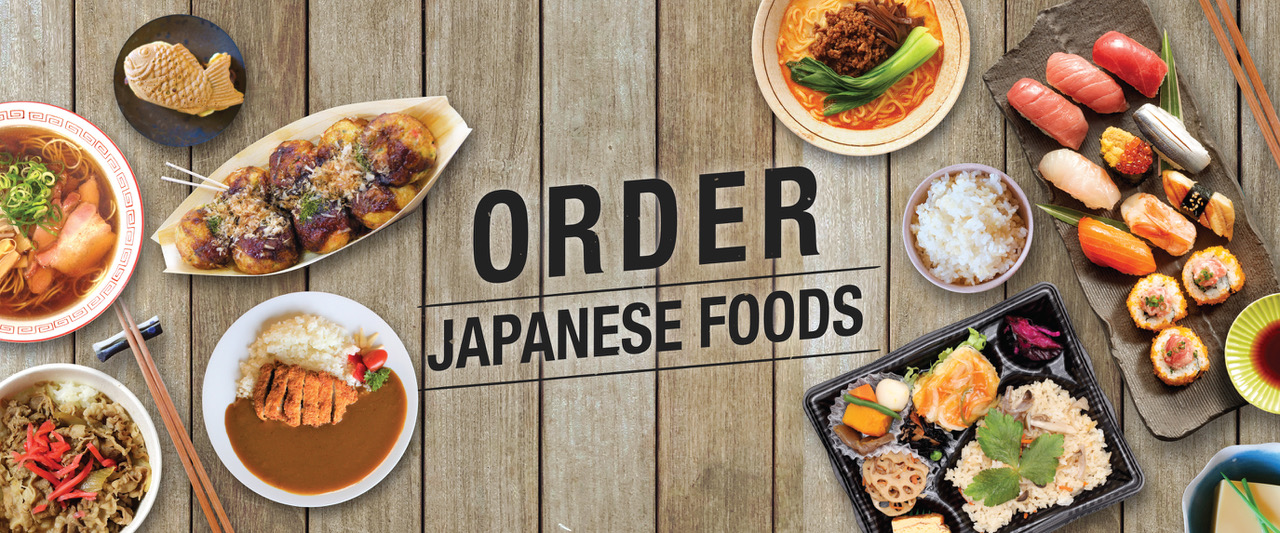 Order Japanese foods to-go online