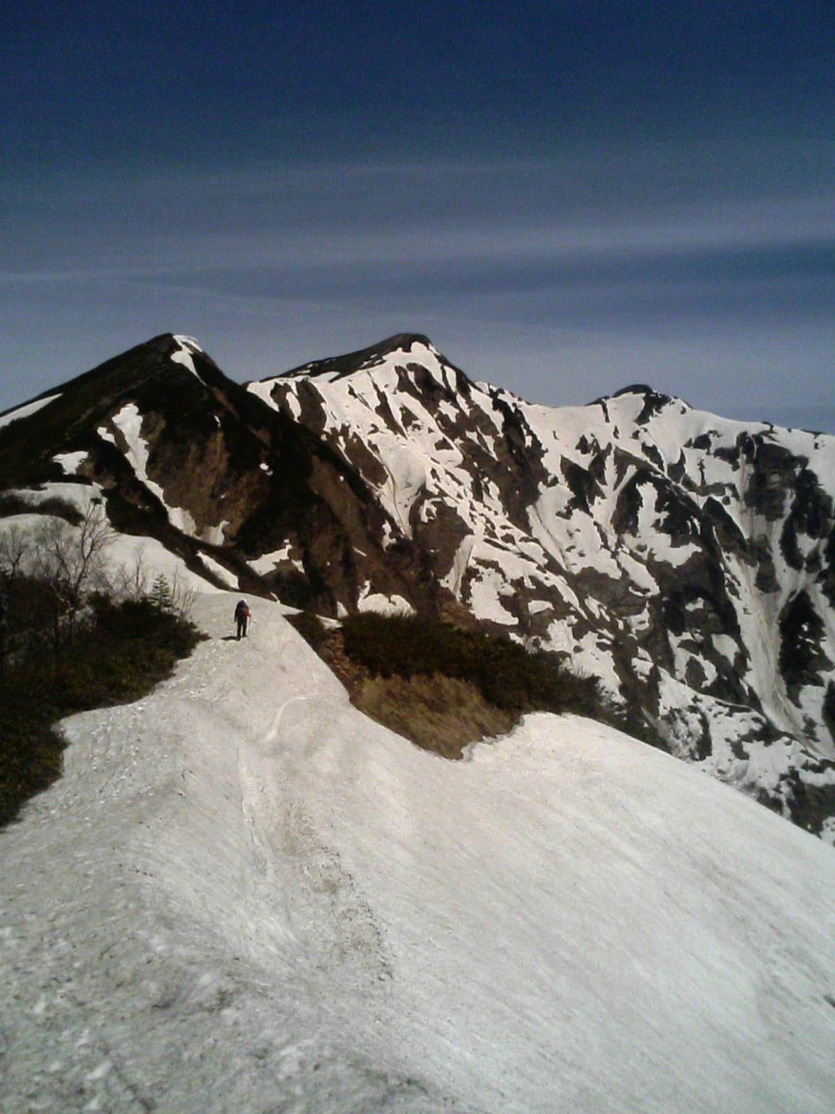 the ridge to Kashimayari