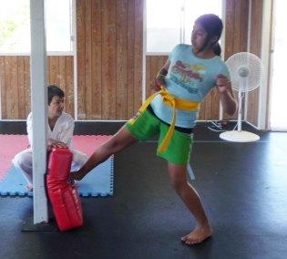 Aug 2013 Seminar Gaby Kicking