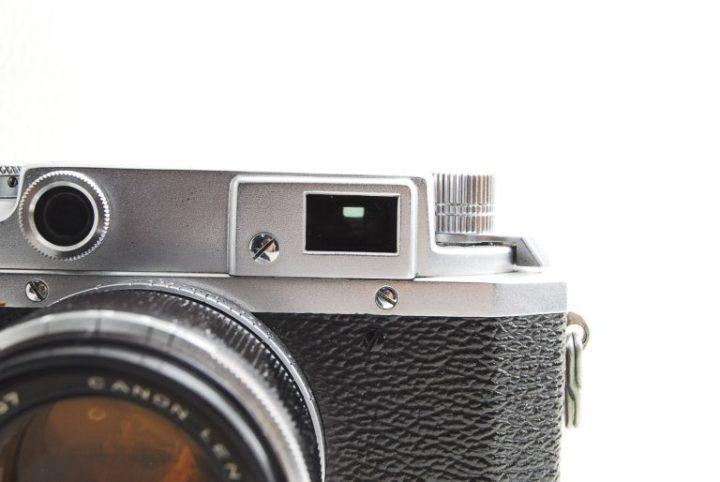Canon II D(2D)型フォーカルプレーン式カメラファインダー