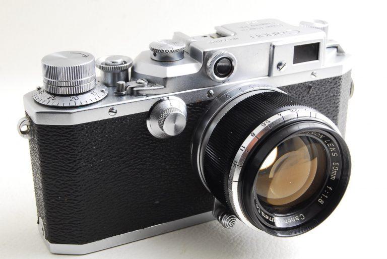 Canon II D(2D)型フォーカルプレーン式カメラ