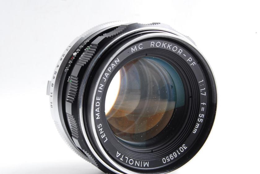 Minolta MC Rokkor-PF 55mm F1.7 Repair Textbook