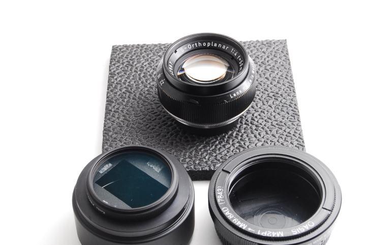 Carl Zeiss S-Orthoplanar 50mm F4 付属品