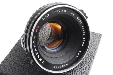 Carl Zeiss Jena DDR Zenzanon MC 80mm F2.8