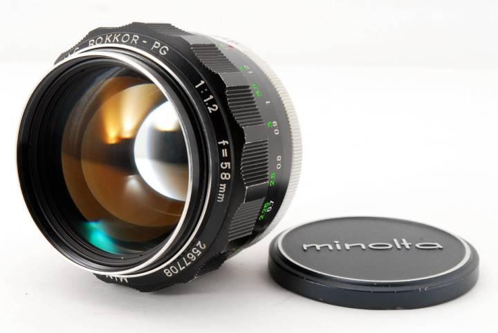 Minolta MC Rokkor-PG 58mm F1.2