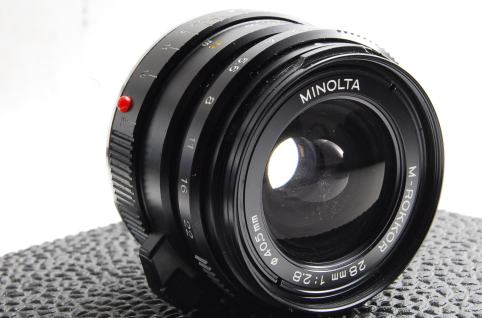 Minolta M-Rokkor 28mm F2.8