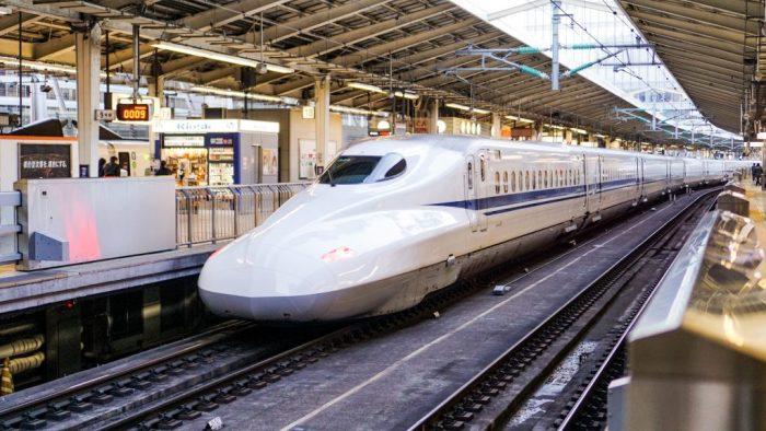 Синкансэн - скоростной поезд